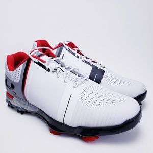 NEW Under Armour UA Spieth 1/One Golf Shoes White